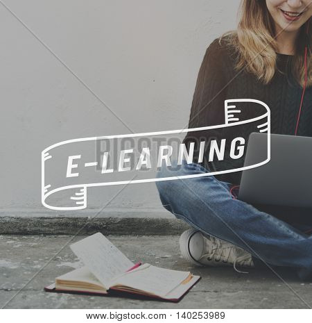 E-learning Online Education Internet Concept
