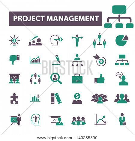 project management icons