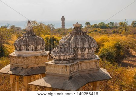 Chittorgarh Fort, Rajasthan, India.