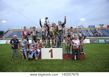 Podium Of Participants