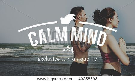 Calm Expression Health Mind Relax Serenity Concept
