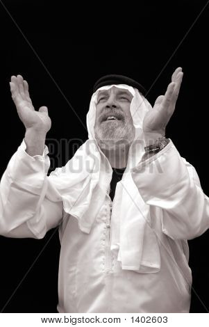 The Sheik Praying