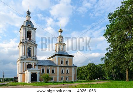Church of Kazan Icon of Mother of God (Lower temple of Candlemas of Lord) Uglich Golden Ring of Russia