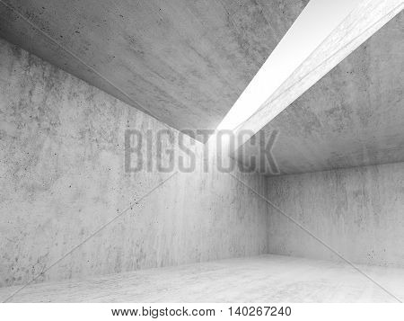 Abstract Architecture Empty Interior 3D