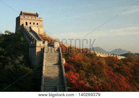 Badaling sector of Great Wall, China, Beijing