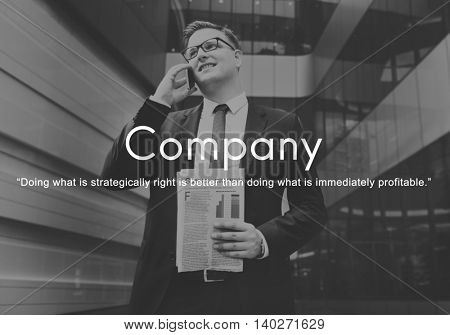 Company Business Collaboration Corporate Team Concept