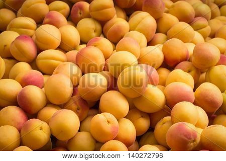 Apricot Peaches - Pile Of Fruits