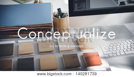 Conceptualize Creative Ideas Notion Abstract Plan Concept