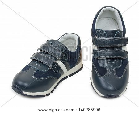 Kids Sneakers, Sport Shoe. Isolated On A White Background.