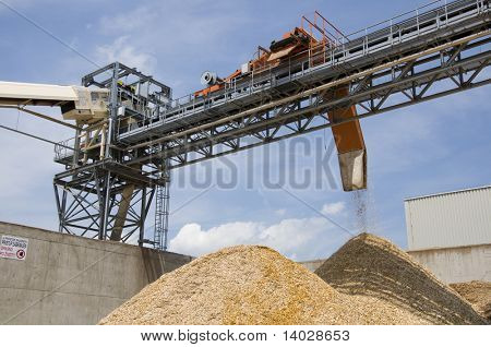 Woodchip production