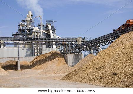 Woodchip production