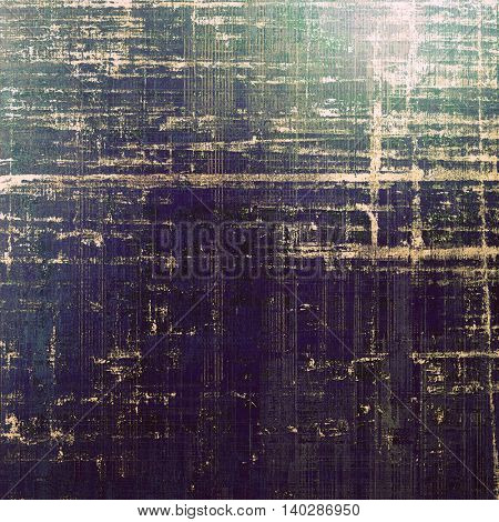 Grunge colorful texture, aged weathered background with different color patterns: yellow (beige); gray; black; green; blue; purple (violet)