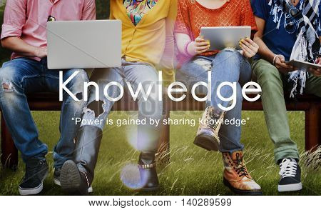 Knowledge Learn Education People Graphic Concept
