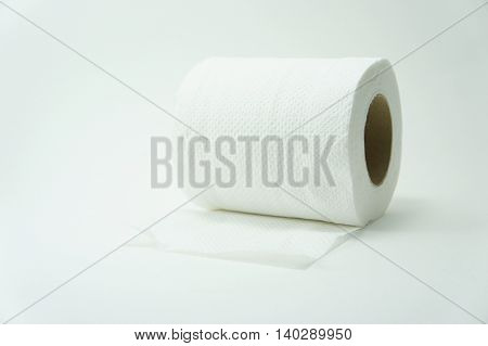 Tissue paper rolls used to clean dirt versatile.