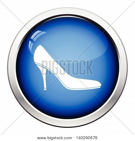 Middle Heel Shoe Icon