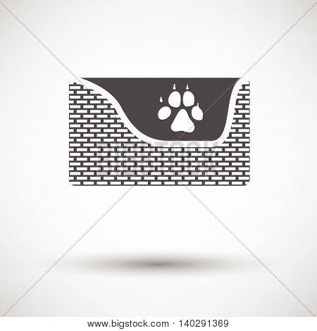Dogs Sleep Basket Icon