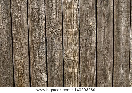 Old wooden planks texture with aging effects