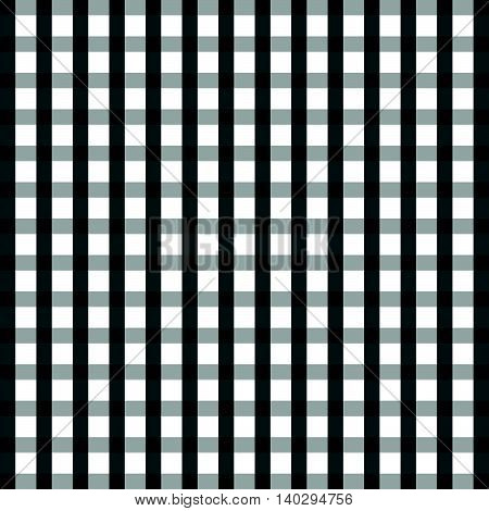 Tablecloth Cotton In Black And White Color Illustration