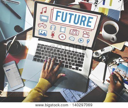Future Innovation Electronics Gadget Concept