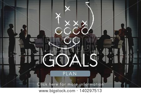 Goals Aim Aspiration Believe Inspiration Target Concept