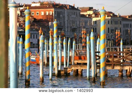 Venice Mooring Poles