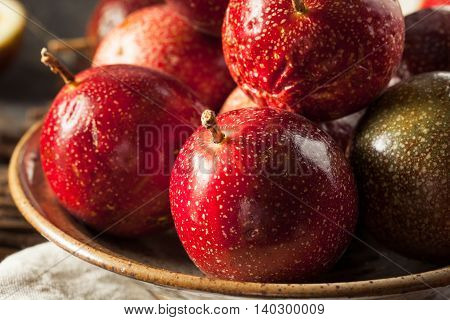 Fresh Raw Organic Passion Fruit