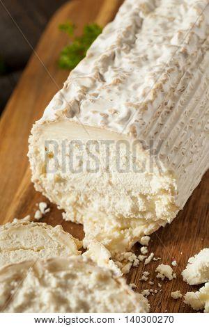 Raw White Organic Goat Cheese