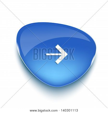 Realistic glass banner for web interface. Web element. Web site. Vector illustration.
