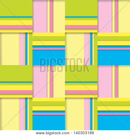 Seamless pattern - simple background from squares. Vector illustration