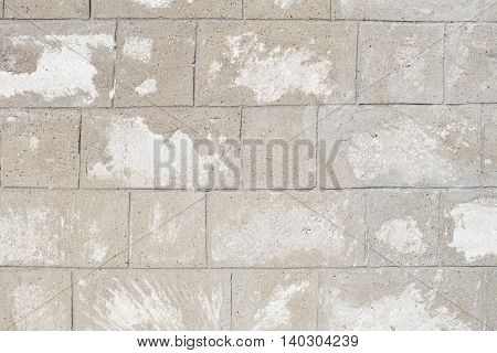 White Or Grey Brick Wall Background Outdoor