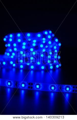 Blue Led Stripe