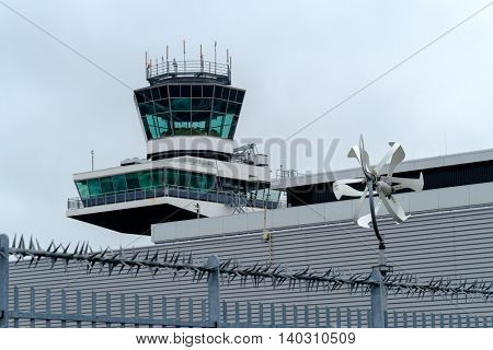Tower at the international airport