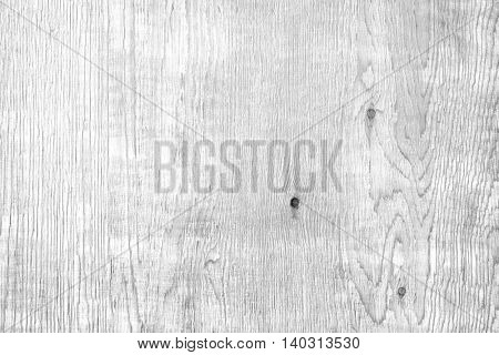 Closeup of white wood background