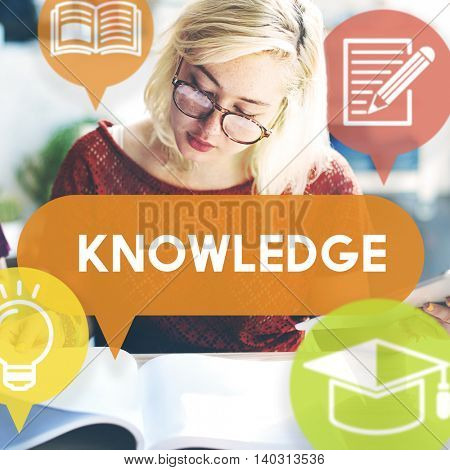 Knowledge Power Education Career Insight Concept