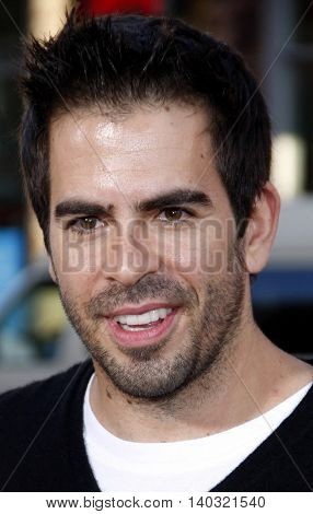 Eli Roth at the Los Angeles premiere of 'Scott Pilgrim vs. The World' held at the Grauman's Chinese Theater in Hollywood, USA on July 27, 2010.