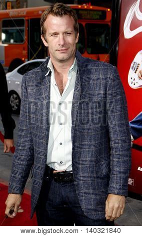 Thomas Jane at the Los Angeles premiere of 'Scott Pilgrim vs. The World' held at the Grauman's Chinese Theater in Hollywood, USA on July 27, 2010.