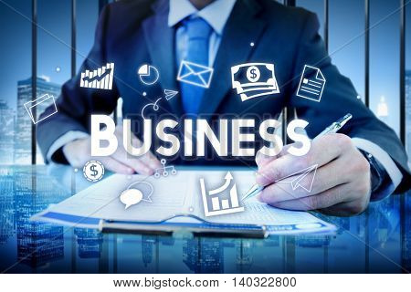 Business Company Strategy Vision Organization Concept