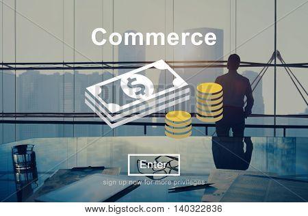 Commerce World Economics Money Concept