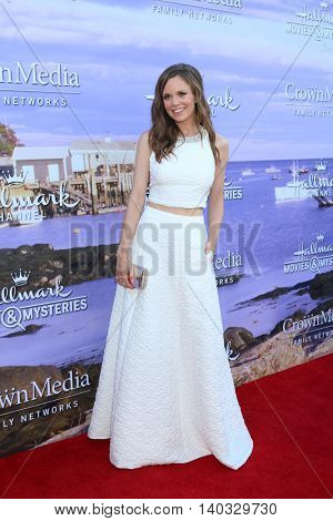 LOS ANGELES - JUL 27:  Rachel Boston at the Hallmark Summer 2016 TCA Press Tour Event at the Private Estate on July 27, 2016 in Beverly Hills, CA