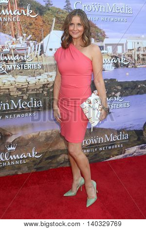 LOS ANGELES - JUL 27:  Kellie Martin at the Hallmark Summer 2016 TCA Press Tour Event at the Private Estate on July 27, 2016 in Beverly Hills, CA