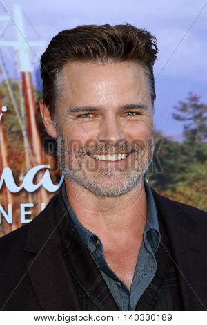 LOS ANGELES - JUL 27:  Dylan Neal at the Hallmark Summer 2016 TCA Press Tour Event at the Private Estate on July 27, 2016 in Beverly Hills, CA