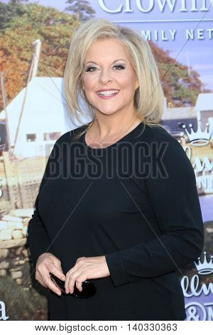 LOS ANGELES - JUL 27:  Nancy Grace at the Hallmark Summer 2016 TCA Press Tour Event at the Private Estate on July 27, 2016 in Beverly Hills, CA