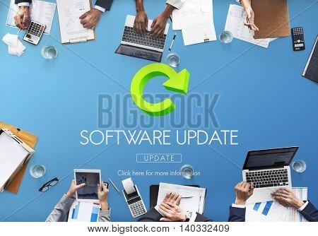Software Update Program Digital Improvement Concept