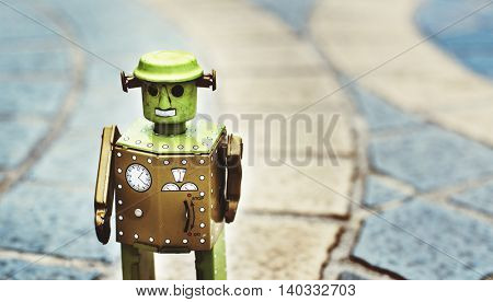 Robot World Future Culture Design Concept