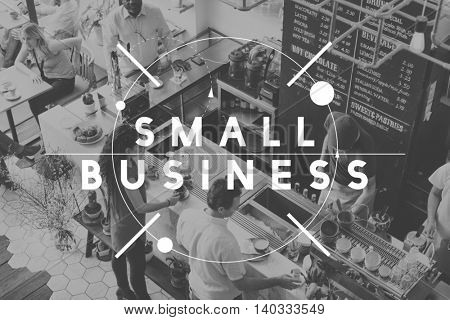 Small Business Company Development Ideas Start Concept