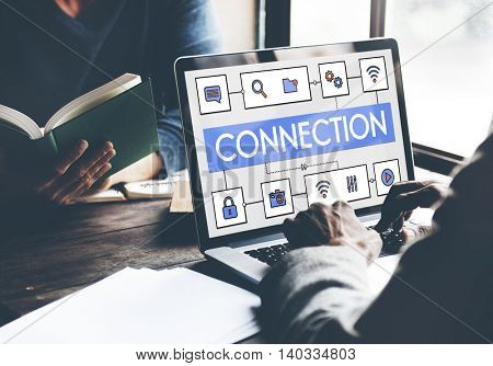 Network Connection Data Internet Technology Concept