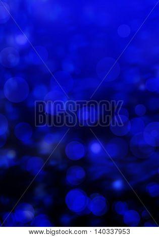 Bluecolour bokeh abstract light background for your webdesign.