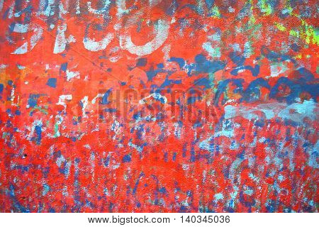 Colorful board wood background Art Abstract background many-colored
