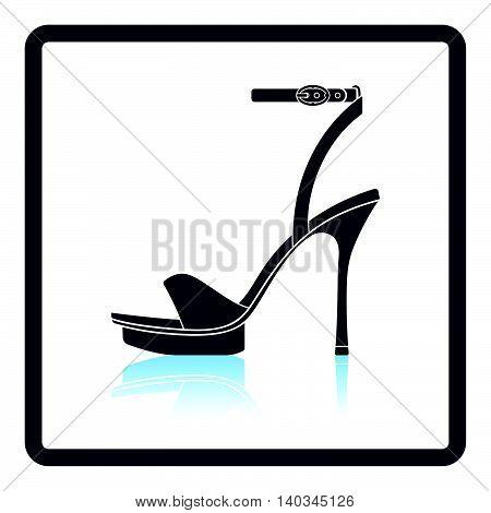 Woman High Heel Sandal Icon