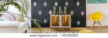 Decorative Blackboard Wall
